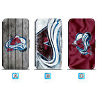 Colorado Avalanche Leather Case For iPhone X Xs Max Xr 7 8 Plus Galaxy S9 S8 $7.99 USD on eBay