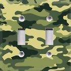 Camouflage Themed Light Switch Cover Choose Your Cover