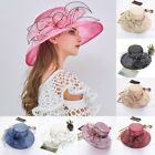 Women's Fascinators Kentucky Derby Church Dress Wedding Floral Tea Party Hat US