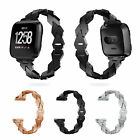 Replacement Stainless Steel Large Loop Strap Wrist Band for Fitbit Versa Watch