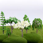 Tree Figurine Flower Bonsai  Fairy Garden Decoration Simulation Plants