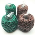 Flexible Tie Plant Tying Tube 3mm or 5mm Brown or Green Flexi Stretchy String