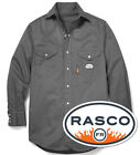 NEW-Rasco FR Lightweight Work Shirts,Plaid & Uniform-ALL COLORS Fire Resistant