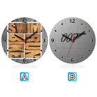 Triathlon James Bond 007 Wooden Wall Clock Modern Home Office Decor $11.99 USD on eBay