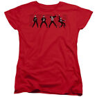 Elvis Presley Womens T-Shirt Jailhouse Rock Red Tee