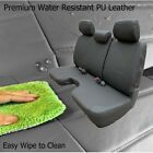 A30 Regular Cab Front Notched Cushion Bench Seat Cover Three Adjustable Headrest