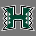 Hawaii Rainbow Warriors NCAA Football Vinyl Sticker Car Truck Window Decal Yeti