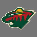 Minnesota Wild NHL Hockey Vinyl Sticker Car Truck Window Decal Laptop Yeti Wall $3.99 USD on eBay