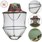 Camo Mosquito Net Outdoor Hat Beekeeping Hat Flying-Insect Prevention Cap L