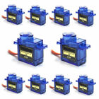 10x 9G SG90 Micro Servo Motor For RC Robot Helicopter Airplane Aircraf Car Boat