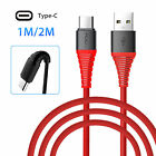 For Samsung S9 S8 Plus Note 9 8 USB-C Type C FAST Charging Sync & Charger Cable