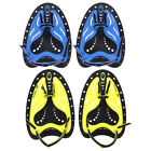 Training Swimming Paddles Adjustable Silicone Flippers Hand Webbed Diving Gloves
