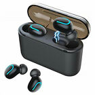 Wireless Headphones TWS Mini True bluetooth 5.0 Stereo Earphones In-Ear Headset <br/> Latest Version 5.0&radic;HIFI Stereo Sound&radic; Long Playing Time