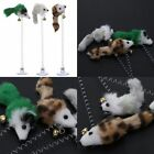 Pet Cat Toys Elastic Feather False Mouse Toys Pet Products Kitten Supplies 1/3pc