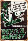 Metal Sign - 1942 Marijuana Devil