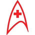 "Star Trek Medical Fleet Insignia Badge 12"" Vinyl Decal Car Window Sticker v1 on eBay"