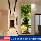 Kyпить 3Pcs Modern Bamboo Oil Painting Canvas Print Wall Pictures Home Decor Unframed ! на еВаy.соm
