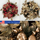 "Christmas Wreath Decor For Xmas Party Door Wall Hanging Garland Ornament 16"" !"