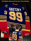 NEW Wayne Gretzky St Louis Blues Men's 1995-1996 Style BLUE / HOME Retro Jersey $129.88 USD on eBay