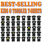 Kids Tshirt Funny Childrens Toddlers Tee Top T-Shirt SUPER VARIOUS DESIGNS BK33