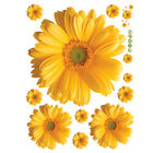 Waterproof Wall Stickers Decal Art PVC Daisy Flower Home Living Room Decoration