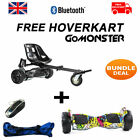 FREE Graffiti Suspension Hoverkart with 8.5″ Bluetooth Hummer Segway Hoverboard