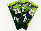 Bridgestone EZ Fit Golf Glove Left Hand Reg S/M M/L L/XL White/Black Lot of 2