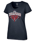 Boston Red Sox Womens '47 Brand 2018 World Series Champions T-Shirt - L