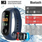 M3 Smart Band Watch Bracelet Fitness Activity Tracker Sport Wristbands Watches