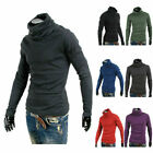 Mens High Neck Turtleneck Pullover Sweaters Casual Turtle Neck Made in Korea 11