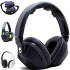 Skullcandy Crusher Stereo Headset Supreme Sound Mic Amp Bass Black White New