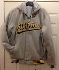 Oakland A's  Hooded Reversible Fleece Jacket with Detachable hood by JH Design on Ebay