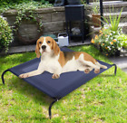 Elevated Pet Bed Dog Cat Raised Cot Steel Frame Mat Indoor Outdoor Large XL New