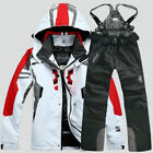 Men's Winter Ski Suit Jacket Waterproof Coat Pantsuits Snowboard Snowsuits New