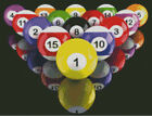Cross stitch chart, 8 Ball Pool, Set Up, Racked Up, Billiards, Snooker, Balls. $16.63 CAD on eBay