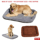 Dog Bed XXL XL Extra Large Medium Small for Dogs and Cats Grey Cushion Washable