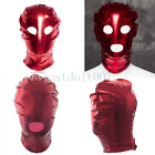 Blindfold Eye Face Mask Open Mouth Hood Full Head Balaclava Restraint Roleplay