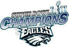 Philadelphia Eagles 2018 Super Bowl 52 Champions Decal / Sticker