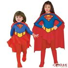 Comics Book Super Girl Child And Toddler Girls Super Hero Costume Kids New