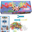 Rainbow Loom Rubber Band  Bracelet Making Kit Hobby Arts & Craft for Kids New