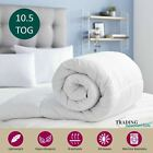 All Season Hollow fibre 10.5 Tog Duvet Quilt Cosy Anti Allergy Machine Washable