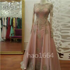2020 Vintage Lace Mother of the Bride Dress Gold Appliques Wedding Guest Gown
