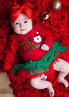US Newborn Baby's First Spring Girl Romper Tulle TuTu Dress Clothes Outfits