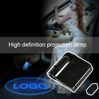 Wireless Led Car Door Light Welcome Laser Projector Logo Shadow Lamp 1/2/4pcs