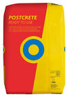 Postcrete Fastsetting  Concrete in plastic bags for setting  posts 500g to 15kg