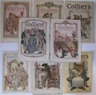 8 PC 1902-1904 ORIG LEYENDECKER COLLIER'S MAGAZINE COVERS PERIOD DRESS SERIES