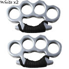 Portable Self-Defense Knuckles Ring Sport Four Finger Alloy Dusters EDC Tool US