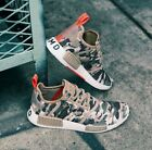 adidas Originals NMD R1 Shoes Men's (size 8.5 - 13) Camo Pack Brown White G27915