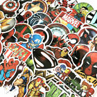 Coastal Home Decorations 50 Pcs/Lot Stickers MARVEL Avengers Super Hero DC For Car Laptop Skatboard Decal Traditional Indian Home Decorating Ideas