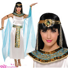 Ladies Cleopatra Princess Costume Adult Womens Nile Egyptian Fancy Dress Outfit